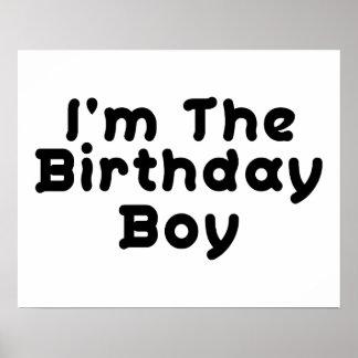 I'm The Birthday Boy Poster
