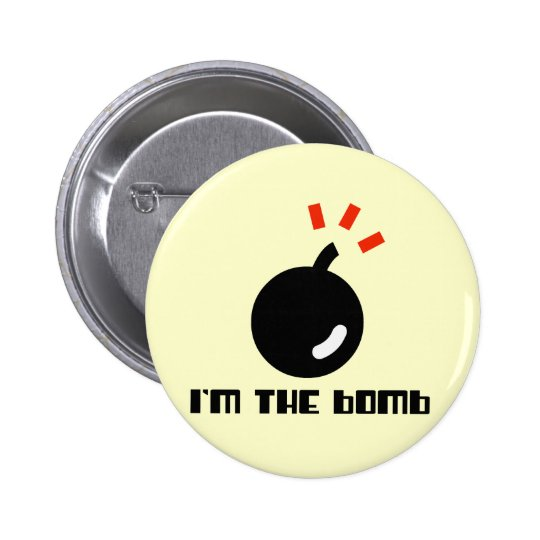 I'm The Bomb 2 Inch Round Button