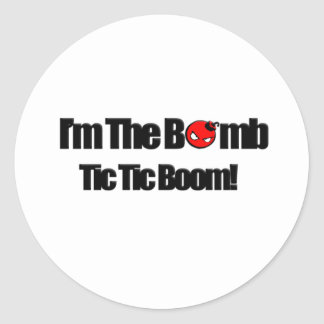 I'm The Bomb Classic Round Sticker