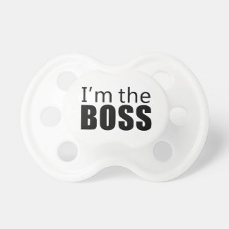 Im the Boss Baby Pacifiers
