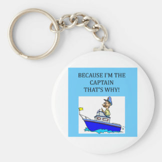 i'm the captain keychain