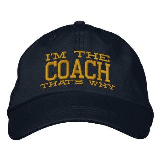 I'm the Coach That's why Baseball Cap