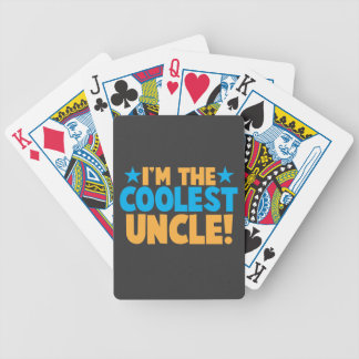 I'm the Coolest Uncle! Bicycle Playing Cards