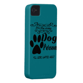 I'm the crazy dog person you were warned about iPhone 4 cases