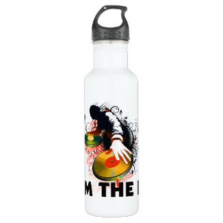 I'm The DJ Rockin The Turntables 24oz Water Bottle