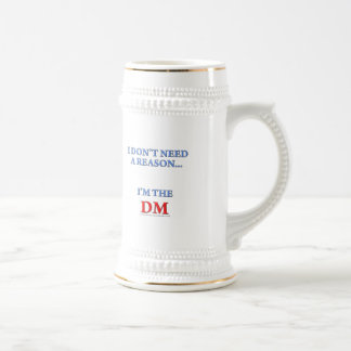 I'm the DM Beer Stein