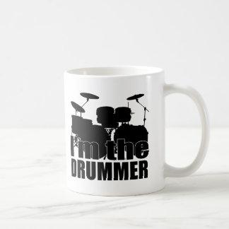 I'm the Drummer Classic White Coffee Mug