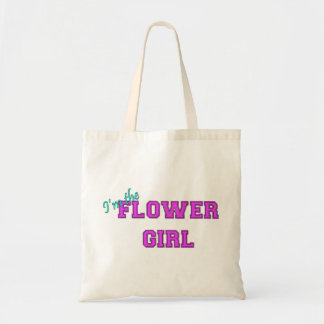 I'm The Flower Girl Budget Tote Bag