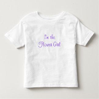 I'm the Flower Girl Toddler T-shirt