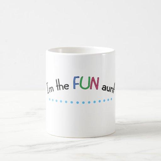 Im the FUN aunt Coffee Mugs