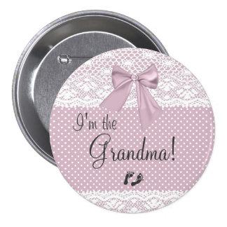 I'm The Grandma Pinback Button