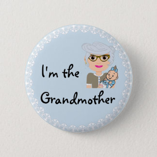 I'm the Grandmother 2 Inch Round Button