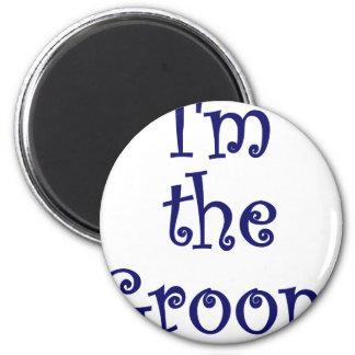 Im the Groom Refrigerator Magnets