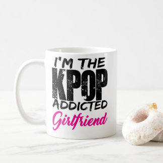 I'm The KPOP Addicted Girlfriend - Couple Design Coffee Mug