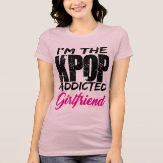 I'm The KPOP Addicted Girlfriend - Couple Design T-Shirt
