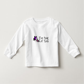 Im The Lil Sis Butterflies Tshirts