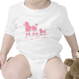I'm The Little Sister French Poodles T Shirts