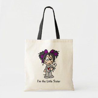 I'm the Little Sister totebag Tote Bag