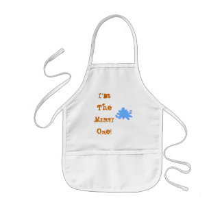 I'm The MESSY One! Kids Apron