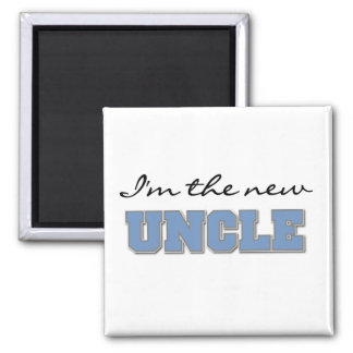 I'm the New Uncle Tshirts and Gifts Square Magnet