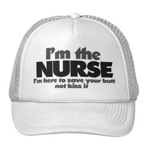 I'm the Nurse Trucker Hat