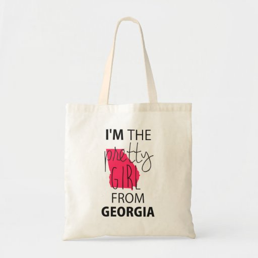 I'm The Pretty Girl From Georgia Canvas Bag