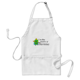 Im The Queen Of Everything Standard Apron