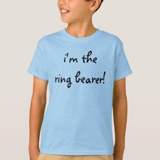 """""""i'm the ring bearer!"""" T-Shirt"""