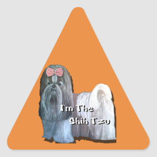 I'm the Shih Tzu - Caution Stickers