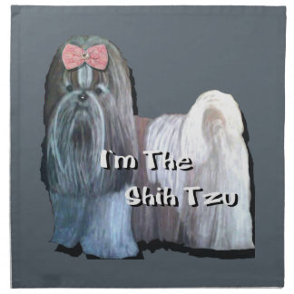 I'm the Shih Tzu Collection Napkin