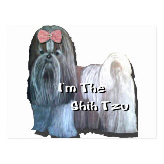 I'm the Shih Tzu Collection Postcard