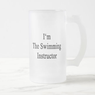 I'm The Swimming Instructor Beer Mugs