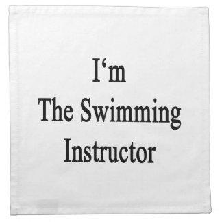 I'm The Swimming Instructor Cloth Napkin