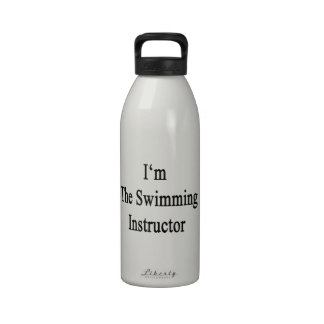 I'm The Swimming Instructor Water Bottle