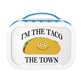 I'm The Taco The Town Lunch Box