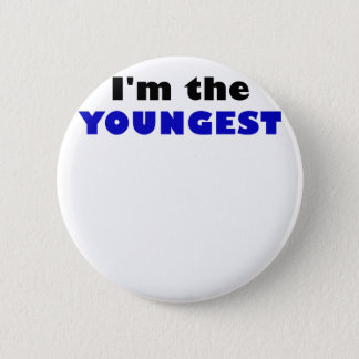 Im the Youngest 2 Inch Round Button