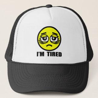 I'm tired trucker hat