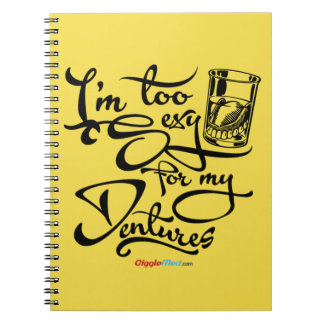 I'm Too Sexy for my Dentures Notebooks