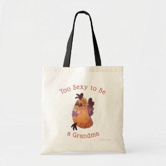 I'm Too Sexy to be a Grandma Flirty Fun Fish Tote Bag