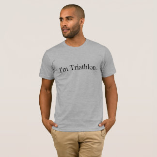 I'm Triathlon Premium t-shirt
