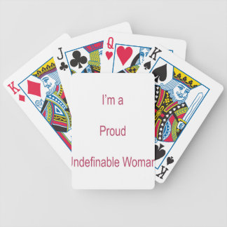 I'm Undefinable Bicycle Playing Cards