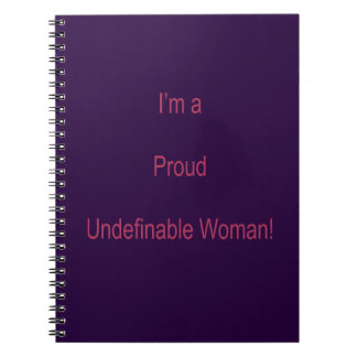 I'm Undefinable Notebook