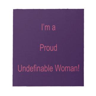 I'm Undefinable Notepad