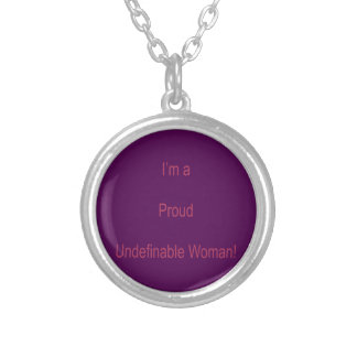 I'm Undefinable Silver Plated Necklace