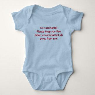 I'm vaccinated baby bodysuit