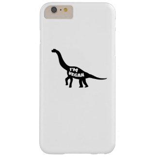 i'm vegan  Herbivore Dinosaur Vegetarian Gift Barely There iPhone 6 Plus Case