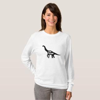 i'm vegan  Herbivore Dinosaur Vegetarian Gift T-Shirt