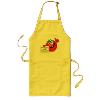 I'm Veggie and I know it (Tomato) Yellow Apron