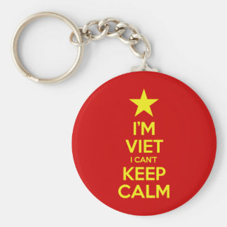 I'm Viet I Can't Keep Calm Keychain