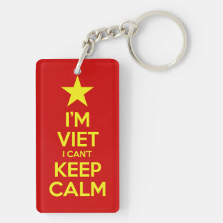 I'm Viet I Can't Keep Calm Keychain
